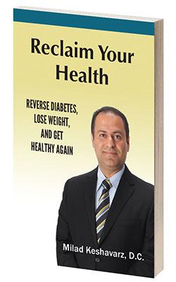 Chiropractor Van Nuys CA Milad Keshavarz Book